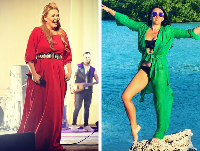Ирина Дубцова до и после липосакции