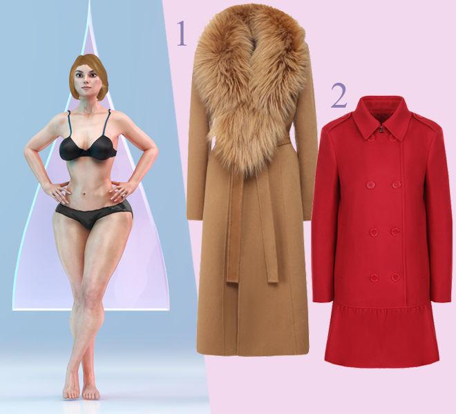 Как выбрать пальто по типу фигуры, чтобы выглядеть стройнее