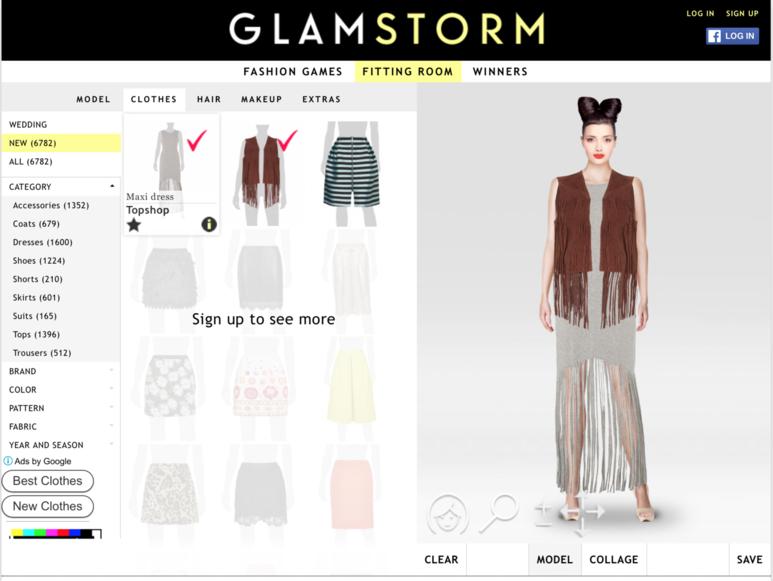 Модный конструктор одежды онлайн замок для сумки портфельного типа